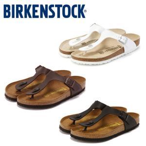 ビルケンシュトック Birkenstock ギゼ メンズ レディース 黒 白 茶 ブラック ホワイト ブラウン コンフォートサンダル GIZEH|shop-kandj