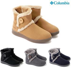 コロンビア  ムートンブーツ ベアフットマウンテン2 ウォータープルーフ レディース  防水 スノーブーツ Columbia Bearfootmountain 2 YL3963|shop-kandj