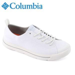 コロンビア Columbia ホーソンレインロウウォータープルーフ WP 防水レディース メンズ スニーカー レースアップ 白 ホワイト 軽量 YU3953 靴 くつ クツ|shop-kandj