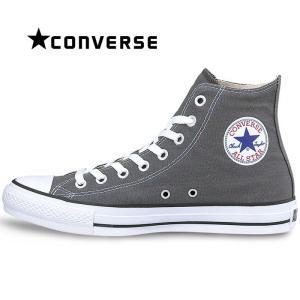 コンバース CONVERSE オールスター HI スニーカー レディース メンズ キャンバス シューズ 定番 靴 ハイカット チャコール グレー 定番 ALL STAR HI|shop-kandj