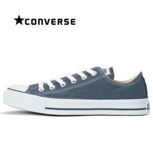 コンバース CONVERSE オールスター ローカット スニーカー レディース メンズ キャンバス シューズ 定番 靴 青 ネイビー ALL STAR OX|shop-kandj