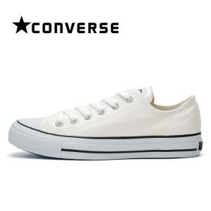 コンバース スニーカー レディース オールスター カラーズ ホワイト 黒ライン CONVERSE ALL STAR COLORS OX|shop-kandj