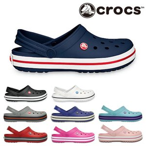 クロックス CROCS クロックバンド サンダル レディース メンズ クロッグ アウトドア ブラック ホワイト グレー ネイビー ブルー ピンク レッド CROCBAND 11016 shop-kandj