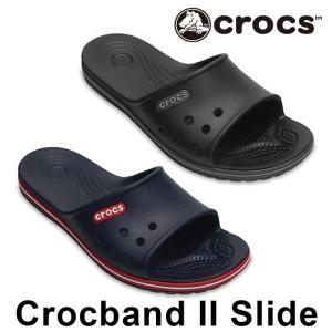 クロックス クロックバンド 2 スライド サンダル 男性 女性 CROCS Crocband 2