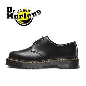 ドクターマーチン Dr.Martens 3ホール 3アイレット ベックスソール メンズ レディース ブーツ シューズ 厚底 黒 ブラック BEX CORE 1461 BLACK SMOOTH|shop-kandj