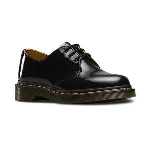 ドクターマーチン 1461 3ホール ブーツ レディース メンズ ブラック パテント 黒 レザー Dr.Martens 1461 3EYE PATENT BLACK 10084001|shop-kandj