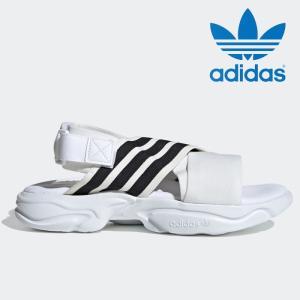 送料無料 アディダス オリジナルス マグムーア サンダル レディース メンズ白 ホワイト スポーツサンダル adidas MAGMUR SANDAL W EF5848 WHITE スポサン|shop-kandj