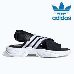 送料無料 アディダス オリジナルス マグムーア サンダル レディース メンズ 黒 ブラック スポーツサンダル adidas MAGMUR SANDAL W EF5863 BLACK スポサン|shop-kandj