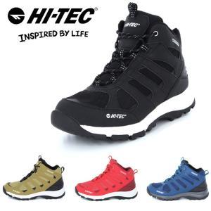ハイテック ロックネス 防水 トレッキングシューズ アウトドアシューズ メンズ レディース 靴 黒 ブラック 紺 ネイビー 赤 レッド ベージュ HI-TEC HT HKU21 shop-kandj