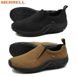 メレル MERRELL ジャングルモック ゴアテックス スニーカー メンズ シューズ 防水 ヌバック アウトドア 靴 黒 茶 JUNGLE MOC GORE TEX|shop-kandj