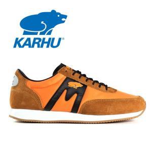 カルフ KARHU アルバトロス ウォーキングシューズ メンズ レディース 定番 スニーカー ランニングシューズ KH802500 オレンジ ALBATROSS|shop-kandj