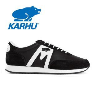 カルフ KARHU アルバトロス ウォーキングシューズ メンズ レディース 定番 スニーカー ランニングシューズ KH802519 ブラック ホワイト ALBATROSS|shop-kandj