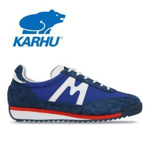 カルフ KARHU チャンピオンエア CHAMPIONAIR KH805002 ブルー ホワイト 青 白 スニーカー ランニングシューズ レディース メンズ 靴 レトロラン|shop-kandj