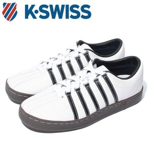 Kスイス ケースイス クラシック 88 メンズ レディース ホワイト ブラウン ガム 白 茶 スニーカー レザー テニスシューズ K-SWISS Classic 88 36022487|shop-kandj