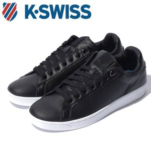 Kスイス ケースイス クリーン コート S CFT メンズ レディース ブラック 黒 ローカット スニーカー テニスシューズ シンセスティックレザー K-SWISS|shop-kandj