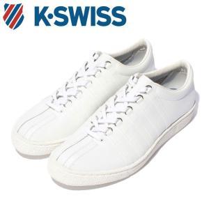 ケースイス クラシック 66 ジャパン メンズ ホワイト 白 スニーカー レザー テニスシューズ コート Kスイス K-SWISS Classic 66 JPN WHITE 36801000|shop-kandj