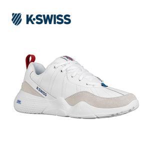 Kスイス ケースイス インターナショナル メンズ ホワイト スニーカー K-SWISS CR-329 LTR White/M.Red/C.Blue 36061570|shop-kandj