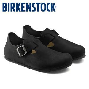 ビルケンシュトック Birkenstock ロンドン メンズ レディース シューズ 黒 ブラック ハバナ 靴 本革 定番 コンフォートシューズ LONDON|shop-kandj