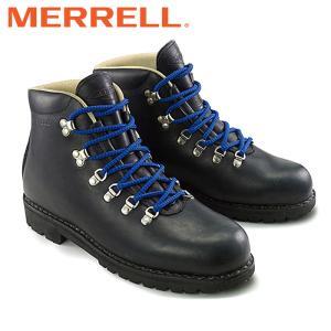 メレル MERRELL ウィルダネス ブーツ メンズ レディース マウンテンブーツ シューズ レザー 黒 ワークブーツ WILDERNESS|shop-kandj