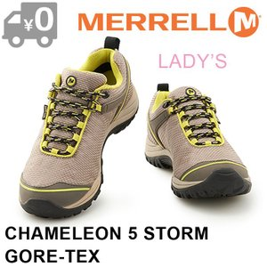 SALE メレル カメレオン5 ストーム ゴアテックス スニーカー レディース アウトドア トレッキング 防水 MERRELL CHAMELEON 5 STORM GORE TEX