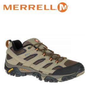 メレル MERRELL モアブ 2 ゴアテックス MOAB 2 GORE-TEX メンズ トレッキングシューズ ローカット ベージュ 茶色 ウォルナット WALNNUT M06035|shop-kandj