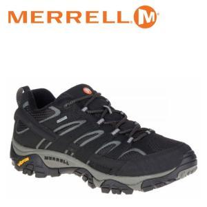 メレル MERRELL モアブ 2 ゴアテックス MOAB 2 GORE-TEX メンズ トレッキングシューズ ローカット ブラック 黒 BLACK M06037|shop-kandj