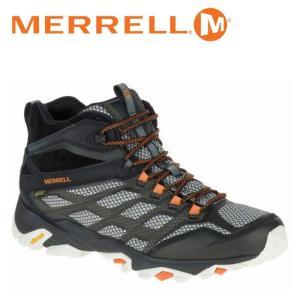メレル MERRELL モアブ FST ミッド ゴアテックス MOAB FST MID GORE-TEX メンズ トレッキングシューズ ハイカット ブラック 黒 BLACK M35737|shop-kandj