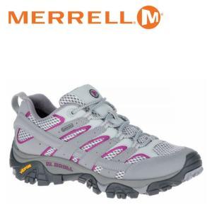 メレル MERRELL モアブ 2 ゴアテックス MOAB 2 GORE-TEX ウィメンズ レディース トレッキングシューズ ローカット フロスト グレー FROST GREY W06082|shop-kandj