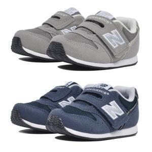 ニューバランス New Balance FS996 スニーカー ベビー キッズ 赤ちゃん 子ども シューズ ベルクロ マジックテープ グレー ネイビー|shop-kandj
