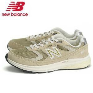 ニューバランス New Balance WW880 AB3 4E スニーカー レディース フィットネス ウォーキングシューズ 幅広 靴 ローカット ベージュ|shop-kandj