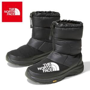 ノースフェイス ヌプシ ダウン ブーティー メンズ レディース ブーツ ウィンターシューズ 防寒 保温 撥水 ブラック THE NORTH FACE Nuptse shop-kandj