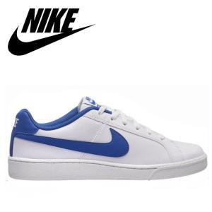 ナイキ NIKE コート ロイヤル SL スニーカー メンズ レディース ウィメンズ ローカット 靴 くつ クツ ブルー ホワイト 青 COURT ROYAL SL 844802 通学|shop-kandj