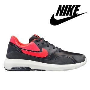 ナイキ NIKE エア マックス ノスタルジック スニーカー メンズ ランニング シューズ ブラック レッド 靴 男性 NIKE AIR MAX NOSTALGIC 916781-009|shop-kandj