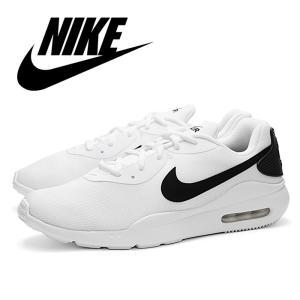 送料無料 NIKE ナイキ スニーカー エアマックス オケト ランニングシューズ ホワイト ブラック 白 黒 運動靴 靴 ローカット NIKE AIR MAX OKETO AQ2235-100|shop-kandj