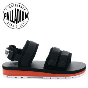 パラディウム サンダル スポーツサンダル スポサン メンズ レディース ブラック オレンジ PALLADIUM OUTDOORSY BLACK 75652-011|shop-kandj