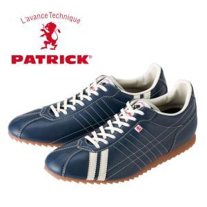 パトリック シュリー レザースニーカー メンズ レディース ウィメンズ インディゴ ネイビー 日本製 PATRICK SULLY IDG 26502 靴 shop-kandj