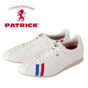 パトリック シュリー レザースニーカー メンズ レディース ウィメンズ トリコロール ホワイト 日本製 PATRICK SULLY TRC 26750 靴|shop-kandj