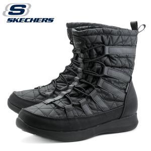 スケッチャーズ SKECHERS ボルダーイーストストーン BOULDER EAST STONE 49806 ウィメンズ レディース ブーツ 裏毛 ブラック|shop-kandj