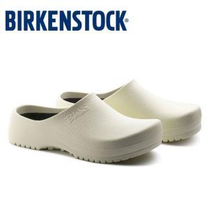 ビルケンシュトック Birkenstock プロフェッショナル Super-Birki 068021 スーパービルキー サンダル ホワイト 白 レディース メンズ 幅広 医療 介護|shop-kandj