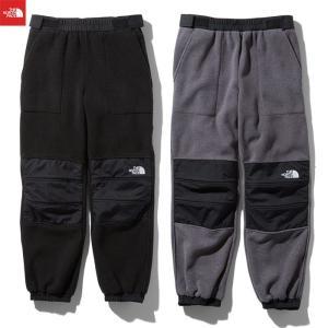 ノースフェイス フリース デナリスリップオンパンツ メンズ ブラック ミックスグレー THE NORTH FACE Denali Slip-on pants NB81956 送料無料|shop-kandj