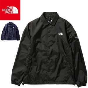 ノースフェイス コーチジャケット メンズ 撥水 長袖 ナイロンジャケット ジャンパー ブラック ブルー THE NORTH FACE The Coach Jacket NP21836|shop-kandj