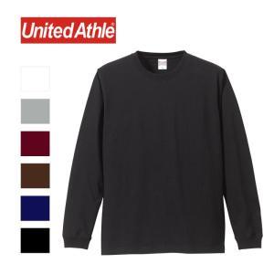 ユナイテッドアスレ United Athle ロングスリーブ ロンT Tシャツ メンズ レディース 5.6oz ホワイト グレー ブラック ネイビー ブラウン 5011 shop-kandj