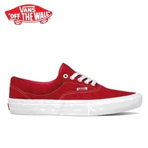 バンズ エラ プロ スニーカー メンズ レディース ローカット スケートシューズ 定番 レッド 赤 VANS ERA PRO SUEDE RED/WHITE VN000VFBAJL 靴 shop-kandj