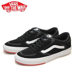 送料無料 バンズ スニーカー ローリークラシック ジェフローリー メンズ VANS ROWLEY CLASSIC (66/99/19) BLACK/RED VN0A4BTTSK5 靴 シューズ スケートシューズ shop-kandj