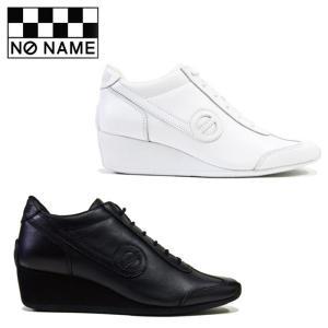 ノーネーム ヨーコ 定番 厚底 スニーカー レディース レザー 黒 ブラック 白 ホワイト BLACK WHITE 婦人靴 NO NAME YOKO JOGGER YOKO-00151|shop-kandj