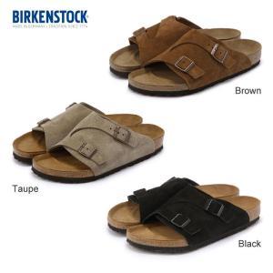 ビルケンシュトック Birkenstock ZURICH チューリッヒ コンフォートサンダル スウェード スエード SUEDE 本革 メンズ レディース|shop-kandj