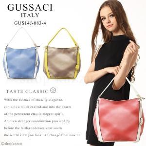 トートバック レディース 人気 ブランド GUSSACI フェイクレザー GUS14J-083-4|shop-kazzu