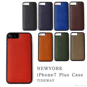 iPhoneケース レディース 本革 イタリアンレザー iPhone6Plus/6sPlus/7Plus スマホケース TIDEWAY T2172|shop-kazzu