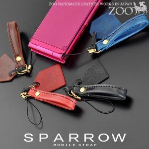 携帯ストラップ レディース コードバン ストラップ スパロウ ZMS-001 mlb|shop-kazzu