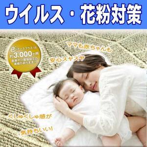 ウィルス・花粉対策・消臭ホットカーペットカバー対応高機能ラグカーペットART−RAYON190x190cm/ shop-kyoto